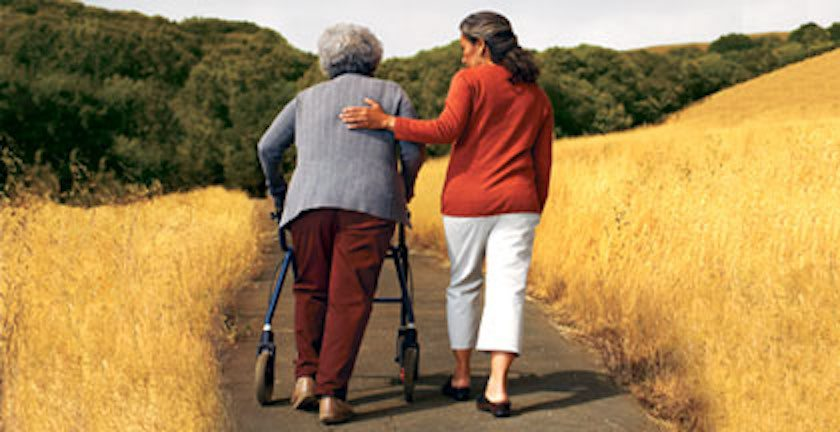 Woman helping woman walk on path-crc subchannel hero image